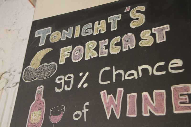 Tonights Forecast Wine