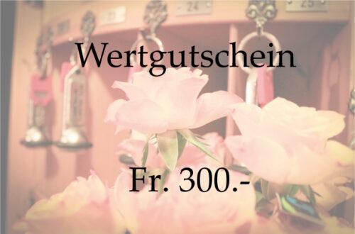 Gift Voucher 300.-